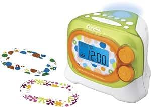 Crayola AM/FM Alarm Clock Radio with Night Light