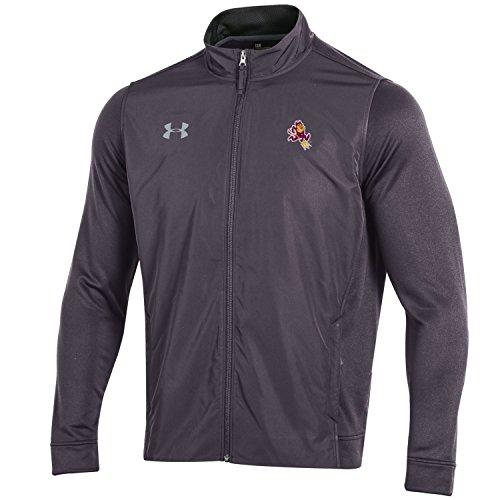 Under Armour NCAA Herren Tech Terry Full Zip Jacke, Herren, Tech Terry Full-Zip Jacket, Carbon Heather, Large Terry Zip Jacket