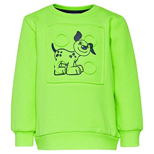 Lego Wear Baby-Jungen Duplo Boy Sirius 321-SWEATSHIRT Sweatshirt, Grün (Green 854), (Herstellergröße: 98)