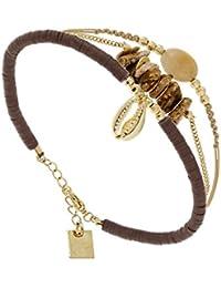 ZAG Bijoux Multicoloured stone bracelet