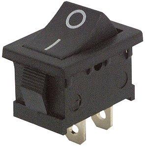 • 2posiciones: encendido/apagado • 2pines • Adecuado para Snap-in de montaje • Medidas: 13x 19,2mm • Conectores planos de 4,8mm • Tamaño: 21x 15x 25mm