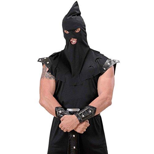 Erwachsene Kostüm Henker Für - Mittelalter Henker Haube schwarz Maske Henkerhaube Vollstrecker Maske Henkermaske Henkersmaske Faschink Karneval