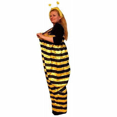 (PUS Biene-n Kostüm-e TO75 One Size M-XXL, Kat. 1, Achtung: B-Ware Artikel, Bitte Artikelmerkmale lesen! Frau-en Männer Tier-e Hummel Hose-n Fasnacht- Fasching-s Karneval-s Geburtstag-s Geschenk-e)
