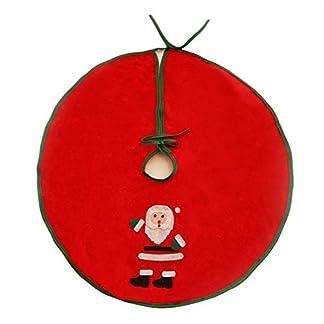 Lovemay-Weihnachtsbaum-Rock-Rot-Weihnachtsbaum-Decken-Weihnachtsmann-Muster-Rock-fr-Christbaumstnder-Weihnachtsdekoration-Neujahr-Party-Deko