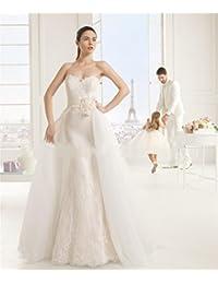 f7e0ab37df43 LUCKY-U Vestito da Sposa Donna Abito da Sposa Abito da Ballo Abiti da Sposa