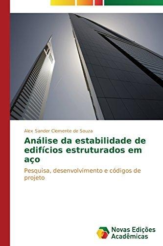 Portada del libro An??lise da estabilidade de edif?-cios estruturados em a???o by Clemente de Souza Alex Sander (2014-12-18)