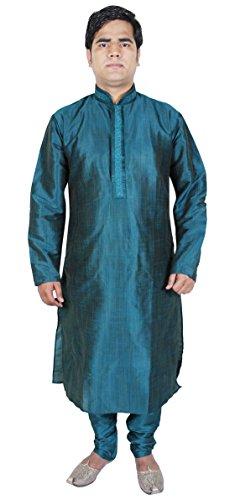 Pantaloni abbigliamento di moda Travestimenti Kurta pigiama da uomo etnica Abbigliamento Verde Taglia L