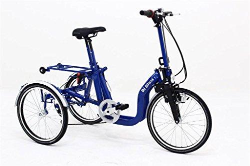 Preisvergleich Produktbild Falt-Dreirad R32 5-Gang Kettenschaltung Blau