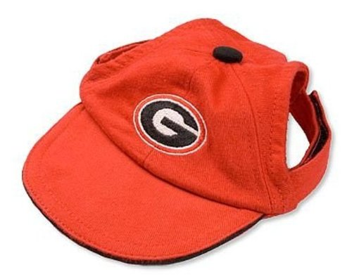 Artikelbild: Sporty K9 Collegiate Georgia Bulldogs Dog Cap, Large by Sporty K9
