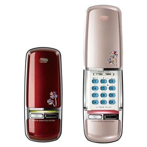 milre mi-350d Champ Digital Tür Lock, Keyless-Tür Lock Wein oder gold Champs Tür