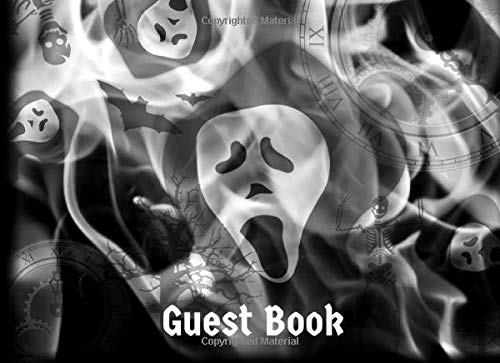 Guest Book: Scary Halloween Party