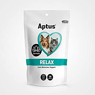 Aptus Relax Calm Behavior Support (30 chews) For All Dogs And Cats to Reduce Stress-Related Behavior