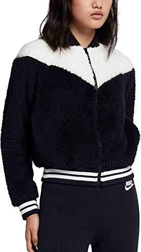 Nike Bomber Wolf - Giacca da Donna, Donna, 939388, Black/Sail/White, M