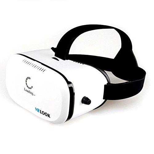 Preisvergleich Produktbild VRLOOK VR BOX IOS 3D VIRTUAL REALITY Brille für iPhone Samsung HTC IOS Android