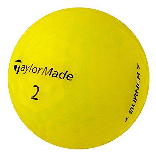 PearlGolf 25 Taylor Made Burner - AAAA - gelb - Lakeballs - gebrauchte Golfbälle