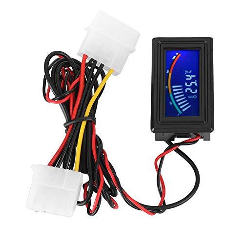 Haofy LCD Display Digitales Wasserkühlungs-Thermometer Zeiger-Temperaturanzeige 5V-24V