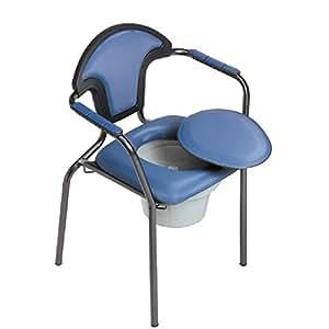 Chaise de toilettes percée Open - Fixe , Océan