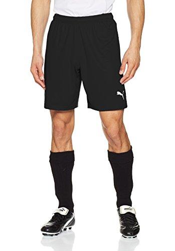 pretty nice 656f4 4e552 Puma Liga Shorts, Pantaloncini Uomo, Nero Black White), M