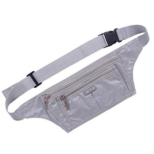 BUSL Wandern Hüfttaschen Telefon im Freien Sporttasche Mann Frau dünne Dokumente gespeichert persönliche Reise unsichtbare Sicherheitstaschen läuft Fitness b