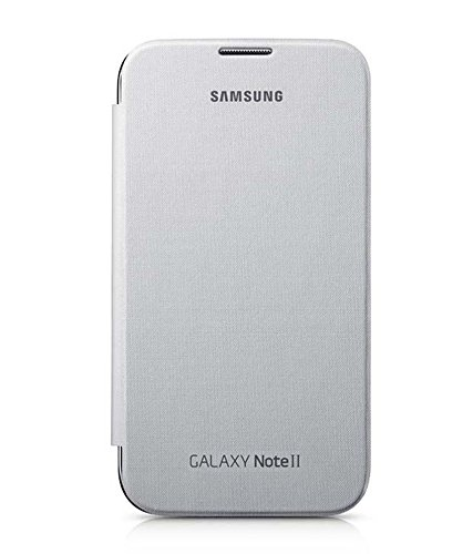Evoque Flip Cover For Samsung Galaxy Note 2 N7100 White  available at amazon for Rs.149