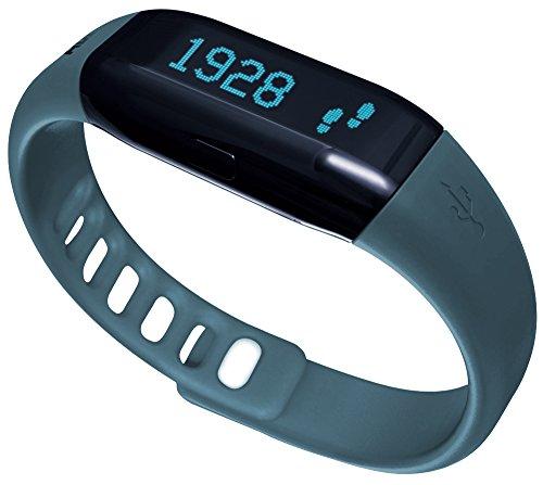ADE Fitness Armband AM 1602 FITvigo (Aktivitätstracker mit Schrittzähler, Kalorienzähler, Schlaftracker, mit Ersatzarmband) petrol + schwarz (Tracker-armband Mile)