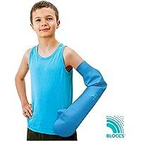 Bloccs Protector de escayola impermeable brazo entero para niño