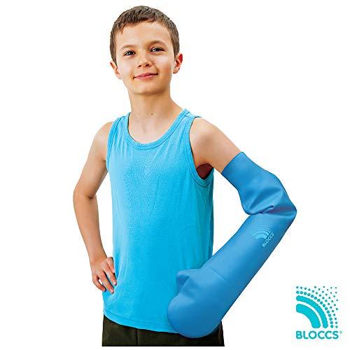 Bloccs - Langer wasserdichter Armprotektor für Gipsverbände (Kinder)