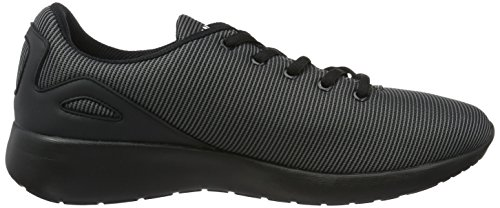 Fila Fury Run Low, Sneakers basses homme Schwarz (Black/Black)