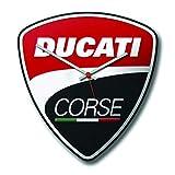 Ducati 987699491 Corse große Wanduhr Küchenuhr Hobbyraum Wall Clock Power