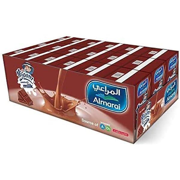 اشتري اونلاين بأفضل الاسعار بالسعودية سوق الان امازون السعودية عصير المراعي نجوم بنكهة الحليب بالشوكولاتة 18 150 مل حزمة من قطعة 1