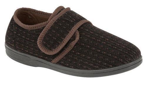 S & B Shoe , Chaussons pour homme Marron