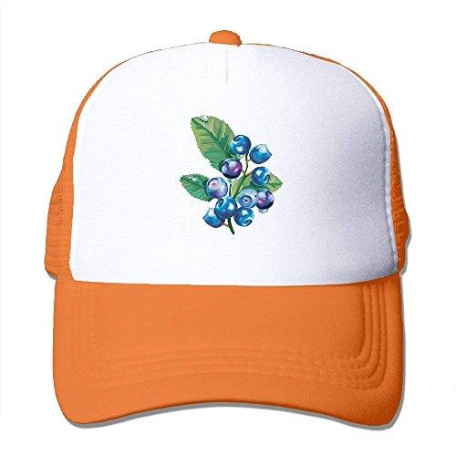 GHEDPO Blueberry Men Women Adult Trucker Cap Adjustable Sports Quick Dry  Hats Mesh Hat b9ed713f1c12