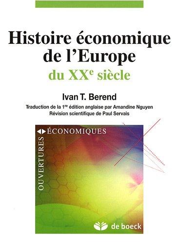 Histoire économique de l'Europe du XXe siècle