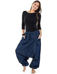 - Pantalon sarouel jean denim street baba cool mixte Liam -