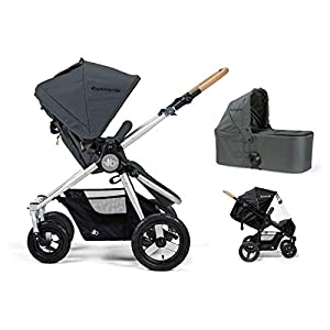 Bumbleride Era 2 in 1 Pram - Dawn Grey   4