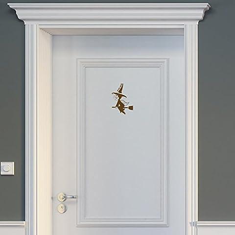 Wandtattoo Porta–Vecchia Strega, Fawn Brown, 14 x 20 cm