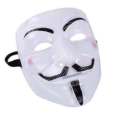 Costumes Noir Halloween Pour Les Costumes Guys - A-szcxtop Costume d'Halloween Carnaval Masque en plastique