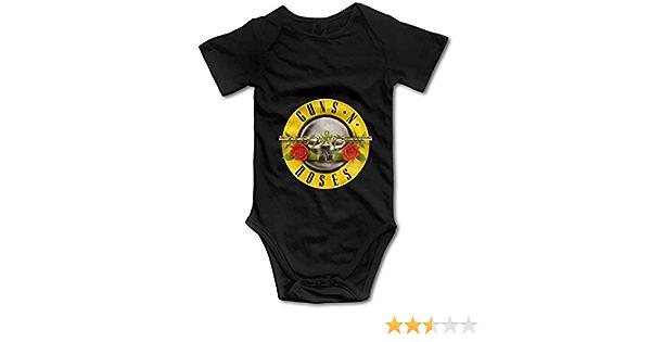 Dezzert030 Guns N Roses GNR Baby Jungen M/ädchen Onesies Kurzarm Bodys