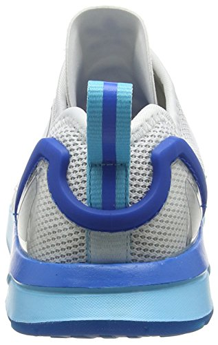 adidas Zx Flux Adv, Scarpe da Corsa Unisex – Adulto, 39 1/3 EU Bianco (Ftwrr White/Ftwrr White/Blue GlowFtwrr White/Ftwrr White/Blue Glow)
