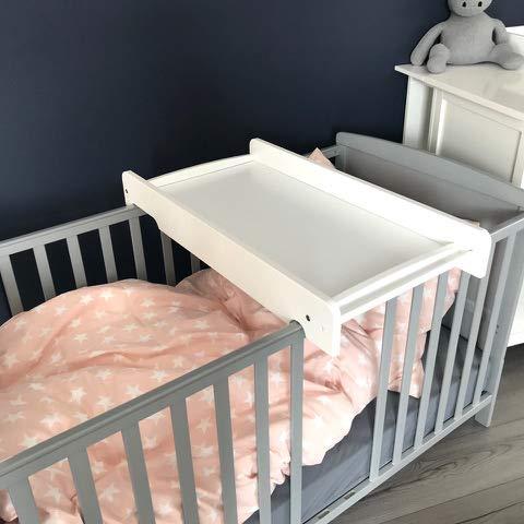Puckdaddy Wickelbrett, Wickelaufsatz Babybett, auch für alle IKEA Babybetten