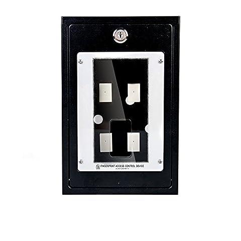 Ciecoo contrôleur d'accès d'empreinte digitale étanche Boîte de protection en métal Housse de pluie pour ZK F18, F7d'empreintes digitales contrôleur d'accès de sécurité boîtier de protection