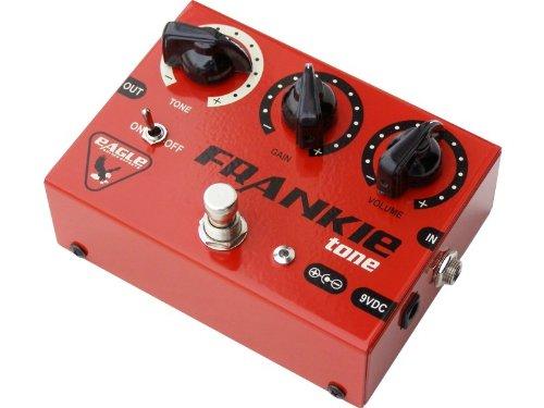 MPE - Pedale Effetto Boutique Distorsore analogico 8 transistor per chitarra elettrica mod: FRANKIE TONE