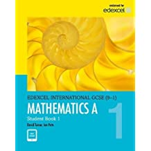 Edexcel International GCSE (9-1) Mathematics A Student Book 1: print and ebook bundle