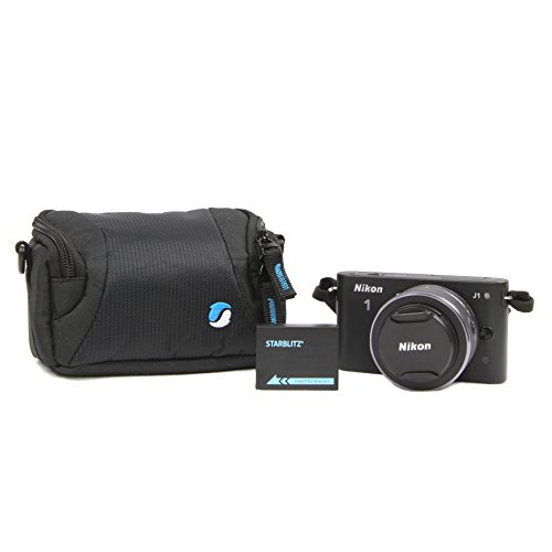 Starblitz WIZZ8 Etui pour Appareil Photo Hybride/Compact Noir