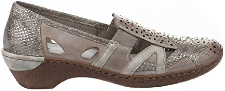 RIEKER Rieker Womens Shoe 48385 Grey 39