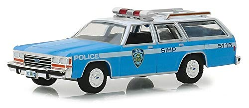 Greenlight 1988 Ford LTD Crown Victoria Wagon NYPD Police 1:64 (Ford Police 1 64)