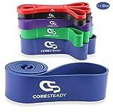 Coresteady Fitnessbänder | Klimmzug Support Band | Trainingsband für CrossFit - Powerlifting /...