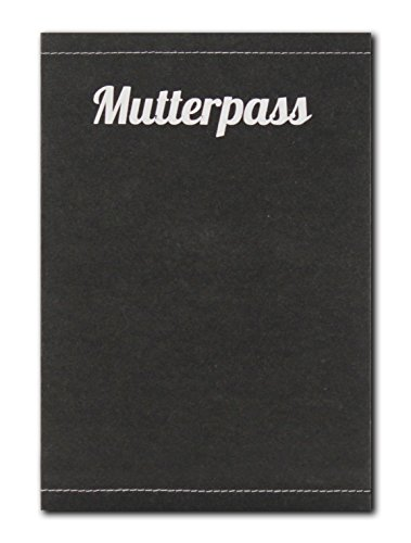 Mutterpass aus SnapPap Leder Blanko