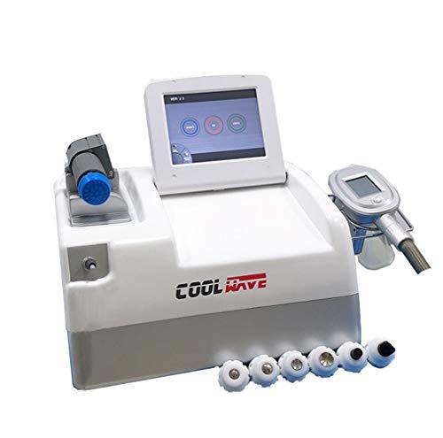Tragbare Cellulite-Reduktionsfett einfrieren + Schockwellen-Physiotherapie, die Maschine abnimmt Vacuum Cryolipolysis Slim Freeze Belt Kryolipolyse -