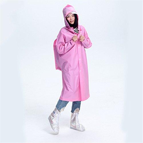 CAI&HONG-Umbrella CCC Bergsteiger Regenmantel mit Rucksack Tasche Eva Wanderstrecke, D, M